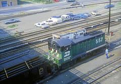 BN NW2 557 (Chuck Zeiler) Tags: bn nw2 557 railroad emd locomotive cicero train chuckzeiler chz