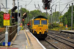 66533 @ Ipswich (A J transport) Tags: 66533 diesel class66 locomotive freightliner trains railway england