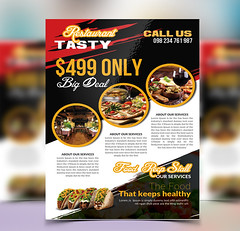 resturant-marketing-flyer (mdbabulhossain881) Tags: business flyer food foodflyer itstacotuesday menu mexican mexicanflyer mexico muertos promotional psd restaurant taco tacotuesdays tacos template texture tuesdays