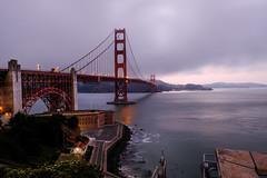 Golden Gate Bridge at Dusk (Dajobe11) Tags: san francisco california fujifilm fuji xt2 golden gate dusk