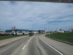 Driving through Edson, Alberta in our family motorhome - part 1 (jimbob_malone) Tags: 2018 highway16 edson alberta