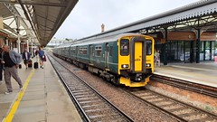 First Great Western 150221 / 150263 2P86 1141 Penzance - Newton Abbot.  Truro. 10th August 2018 (Ajax46.) Tags: firstgreatwestern 150221 150263 10thaugust2018 truro 2p861141penzancetonewtonabbot