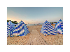 The famous cabins on Dinaard (Sylvie Nenan) Tags: cabin bretagne brittany landscape paysage beach plage landscapesdreams ngc