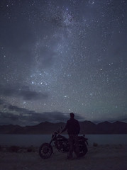 Among the Superstars (malhotraXtreme) Tags: leh ladakh himacchal himalayas manali kullu india trip solo pangong nubra valley mountains sony alpha a6000 lens wide landscape nature photography colour astrophotography astro