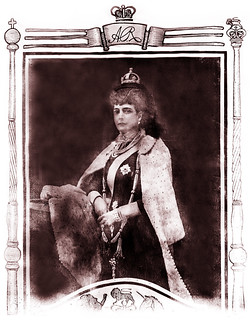 Queen Alexandra (1844-1925), the Princess Diana of her time