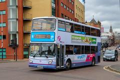 33354 LK53FDA First Glasgow (busmanscotland) Tags: 33354 lk53fda first glasgow lk53 fda transbus trident alx400 dennis alexander centrewest tna33354