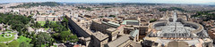 Rome from the dome of St. Peter's Basilica (olivierr31) Tags: city cité panorama roma rome vatican vaticano landscape