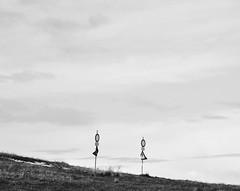 Dancing together (Mi-Fo-to) Tags: monte cartelli stradali divieto bianco nero dance dancing danza street road signs insieme together mountain couple coppia pair invito invitation