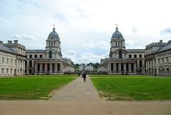 Greenwich Royal Naval College (zawtowers) Tags: jubilee greenway section 6 six saturday 8th september 2018 cloudy dry woolwichfoottunneltogreenwich amble stroll walking walk exploring london river thames path following urban exploration royal naval college iconic buildings sight university view looking from bank