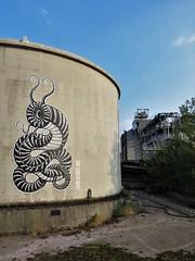 De Kapitein / ... - 1 sep 2018 (Ferdinand 'Ferre' Feys) Tags: gent ghent gand belgium belgique belgië streetart artdelarue graffitiart graffiti graff urbanart urbanarte arteurbano ferdinandfeys kapitein kptn