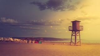 Sunset at the beach - Barbate