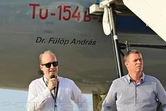 MALÉV TU-154 HA-LCA repülőgépkeresztelő | Dr. Fülöp András | 2018.09.08. (KristofCs) Tags: malev hungarian airlines tu154 ty154 halca ceremony lkk ferihegy airport repülőtér bud budapest christening tupolev first fülöpandrás