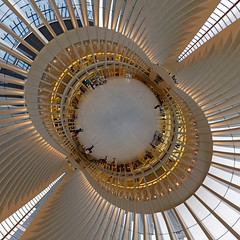 The Oculus (sonic182) Tags: oculus stereographic projection stereographical little planet new york city usa usa2018 united states america world trade center wtc