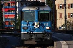 619 (Krzysztof D.) Tags: szwajcaria schweiz suisse svizzera svizra dworzec station stacja bahnhof pociąg train zug kolej bahn railway chur graubünden gryzonia grisons electric elektryczny elektrowóz locomotive lokomotywa
