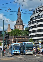 Oslo, Bisko Gunnerus' gate 15.06.2018 (The STB) Tags: oslo tram tramway strasenbahn strassenbahn öpnv publictransport citytransport trikk