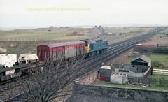 Falkland 25196 heads for Hunterston 13 Apr84 c700 (Ernies Railway Archive) Tags: ayr falklandyard gswr lms scotrail