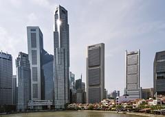 CBD and a Select Few (fantommst) Tags: lisaridings fantommst singapore cbd river skyscrapers housing waterfront cityscape city skyscraper building