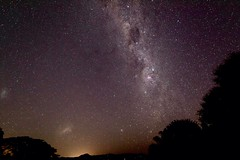 Milky Way from the Gold Coast (armct) Tags: milkyway stars night sky nightlights light pollution horizon skyline radardome goldcoast queensland newsouthwales stargazing wideangle nikon nikkor 1635mm d810 noise reduction milky way hills ranges border hinterland