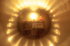 bookshelves through the glass (btyreman) Tags: artisticphotography abstract glass zeiss 50mm planart1450 carlzeiss ze bookcase bookshelves bookshelf musicstand lavalamp latenight experimental optics optical vivid hazy warm ©bentyreman2018 ben tyreman planar5014ze bokeh f18 pine redwoodpine wood woodworking weird opticalillusion diffraction bentlight strange experiment
