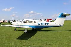 G-SKYV (GH@BHD) Tags: gskyv piper pa28r pa28 pa28rt arrow cherokee cherokeearrow turboarrow piperpa28rt201tturboarrowiv laa laarally laarally2018 sywellairfield sywell aircraft aviation