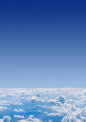 Clouds. View from airplane. (hoboton) Tags: sky above over blue cloud air cloudy cloudscape light white sun bright flight fly view sunny natural space sunshine travel airplane day clear fluffy plane top saturated vibrant copyspace daylight soft unusual strange