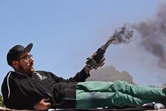 Jake with Smoke (IngyJO) Tags: