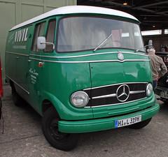 L319 panel van (Schwanzus_Longus) Tags: technorama hildesheim german germany old classic vintage vehicle panel van mercedes benz l319