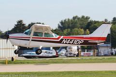 N441DP - 1975 build Cessna 172M Skyhawk II, arriving on Runway 27 at Oshkosh during Airventure 2018 (egcc) Tags: 17265691 172m airventure airventure2018 cgxmw ce172 cessna cessna172 eaa kosh lightroom n441dp osh oshkosh rhinelanderflyingservice skyhawk