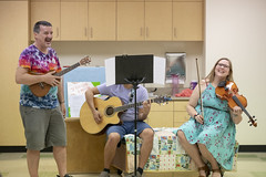 Children's Room Renovations (Pima County Public Library) Tags: mainlibrary childrensprograms childrensreading celebration librarycelebration libraryremodel libraryrenovation music guitar smiling