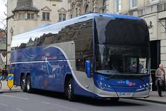 GB63 OXF, St Aldates, Oxford, March 21st 2015 (Southsea_Matt) Tags: gb63oxf 61 routex90 oxfordbuscompany volvo b11r plaxton elite staldates oxford oxfordshire england unitedkingdom march 2015 spring canon 60d sigma 1850mm transport bus omnibus vehicle coach