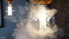 Smokestack Light (Jouvounou) Tags: sony sonya6000 sonyalpha sigma lamp cafe bar deskati greece art artphotography nofilters