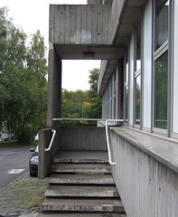 Scottish Borders Council offices, Newtown St. Boswells (Ross_Angus) Tags: bordersbrutalism peterwomersley scottishborderscouncil architecture brutalism building