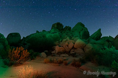 031-Hidden_Valley-004 (Beverly Houwing) Tags: joshuatreenationalpark outdoors recreation nature yuccavalley 29palms shadow boulders hiddenvalley night sky stars lightpainting landscape rockformation colorful joshuatree california usa