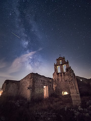 noche-de-perseidas (rafaberlanga) Tags: olympus laowa night starspace astronomy galaxy sky dark milkyway constellation illuminated tower famousplace dusk history outdoors architecture landscape nature travel