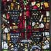 Newark, St Mary Magdalene church, window s2 panel 1d