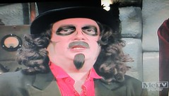 Rich Koz as Horror Film TV Host Svengoolie 2015 NYC 8555 (Brechtbug) Tags: rich koz horror film tv host svengoolie 2015 house horrors during bumper between movie commercials for 1946 starring rondo hatton martin kosleck metv monster movies films creature feature retro hosting theater theatre halloween comedy jokes mc me cable television cult favorite broadcast wacky creepy addams family esque type deejay dj broadcaster comic