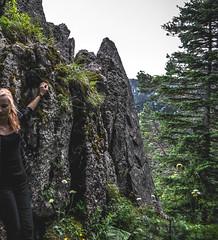 DSC_0093 (Hilðr) Tags: mountains trees rocks forest woods view horizon canyon hills pine stones moss norse inspiration spirit hiking dark