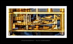 turn and turn infinitely (ruthehrhardt) Tags: cogwheel macromondays macro nikond5300 sigma clock uhrwerk closeup