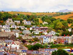 Criccieth, Gwynedd, Wales (photphobia) Tags: criccieth gwynedd wales uk greatbritain oldwivestale oldtown mediaeval beach seafront holiday llynpeninsula seasideresort architecture buildings