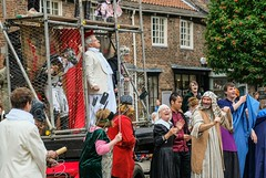 YMPST waggon play performance, College Green, 16 September 2018 - 12 (nican45) Tags: yorkmysteryplays2018 16september2018 16092018 18135 18135mm 2018 csc collegegreen fuji fujifilm mysteryplays nickansell september stwilliamscollege supporterstrust theharrowingofhell xt2 xf18135mmf3556rlmoiswr ymp ympst york yorkshire cast costumes mirrorless performance photographer photography waggon waggonplay wagon