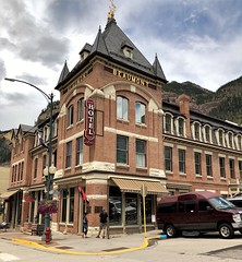 Beaumont Hotel, Ouray, Colorado (Schnauzergal) Tags: colorado roadtrip iphonex hotel ouray historicalbuilding