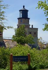 Split Rock Lighthouse - Minnesota (Jeffrey Neihart) Tags: jeffreyneihart nikond5100 nikon1855mm lighthouse light fresnel brick lakesuperior lake minnesota lens