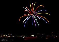 Firework Display Over Plymouth Harbour - British Firework Championships 2018 ( 'Fully Fused Fireworks' ) (Peter Greenway) Tags: 2018 2018britishfireworkchampionships colourful flickr fireworks nightphotography barbicanharbour pyrotechnics britishfireworkchampionships barbicnharbour reflected colours fullyfusedfireworks fireworkdisplay reflections pyrotechnicsdisplay mountedgecombe water ukfireworks night reflectedlight plymouth colorful excitement