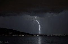 Orage sur Annecy (paul.porral) Tags: éclairs lightning storm ciel sky orage landscape nightscape foudre flash thunder thunderlight night stormchaser nature clouds electric weather thunderstorm flickr ngc