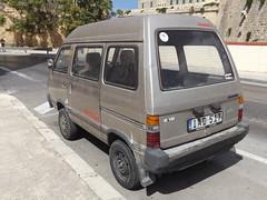 Subaru E12 4WD (Norbert Bánhidi) Tags: malta valletta ilbelt ilbeltvalletta lavalletta car vehicle subaru malte мальта málta