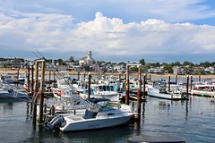 P'Town Marina (Read2me) Tags: pree provincetown boats harbor marina water clouds sky thechallengefactorywinner challengeyouwinner gamewinner