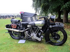 Brough Superior SS100 at the 60th Rally 2018 (BSMK1SV) Tags: brough superiour rally mk1 mkii ss80 1150 ss100 middle aston