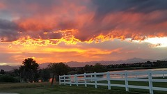 August 30, 2018 - An absolutely stunning sunrise. (David Canfield)