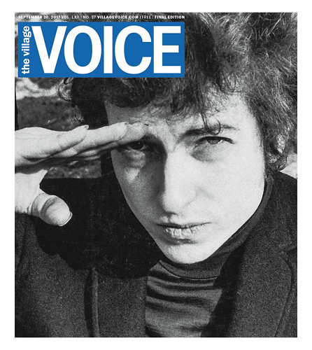 Hail and Farewell: Village Voice, 1955 -- 2018, From FlickrPhotos