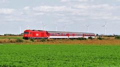 El moment àlgid del dia (tunel_argentera) Tags: tren train zug ferrocarril railway eisenbahn kosice wien viena bratislava glinzendorf oebb obb 2016